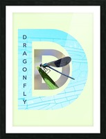 Dragonfly Picture Frame print