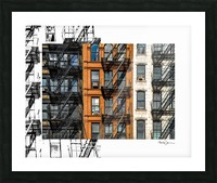 New York - SoHo  Picture Frame print