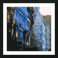 New York - SoHo  Picture Frame print