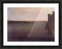 Nocturne in gray and gold, Westminster Bridge by James Abbot McNeill Whistler Picture Frame print