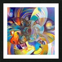 Vivid Illusion Picture Frame print