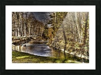 Stoney Brook Falls Picture Frame print