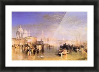 Venice from the canal by Joseph Mallord Turner Picture Frame print
