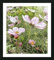Light and Breezy Picture Frame print
