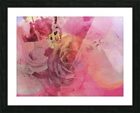 June Rose Picture Frame print