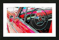 Fiat 1100 D Through The Window Picture Frame print
