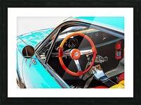 Alfa Romeo 1600Z Through The Window Picture Frame print