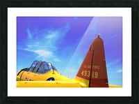 T6 Texan Picture Frame print