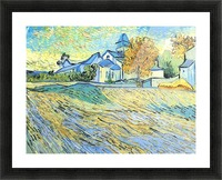 View of the church of Saint-Paul-de-Mausole by Van Gogh Picture Frame print