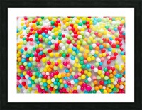 Colors of rainbow Picture Frame print