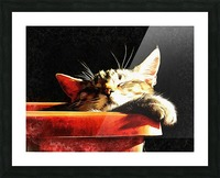 Wake Me When It Is Dinner Time Picture Frame print