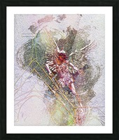 Archangel Michael Picture Frame print