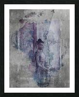 Medicine Buddha Picture Frame print