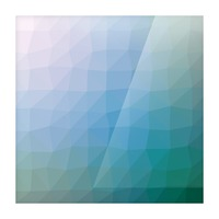 patterns low poly polygon 3D backgrounds, textures, and vectors (48) Picture Frame print