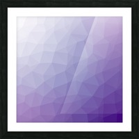 patterns low poly polygon 3D backgrounds, textures, and vectors (64) Picture Frame print