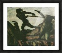 Warrior by Franz von Stuck Picture Frame print