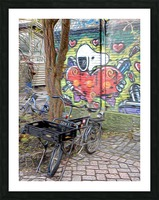 Bicycles at Rest Picture Frame print