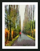 Cemetry Road Picture Frame print