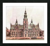 Rosenborg Castle Copenhagen Picture Frame print