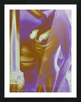Violet Inspiration Picture Frame print