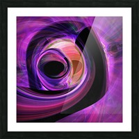 Abstract rendered artwork 3 Picture Frame print