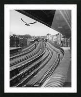 Station de métro - Brooklyn Picture Frame print