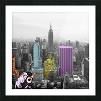 New York - Empire State Building Picture Frame print