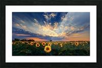 Hungarian skies CXCVIII. Picture Frame print