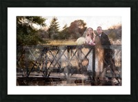 Scott and Stephanie: Color Picture Frame print