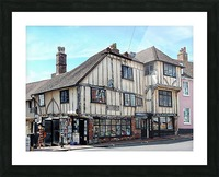 Ye Olde Bookshop Lewes front view Picture Frame print