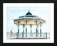 The Bandstand on Brighton Seafront Picture Frame print