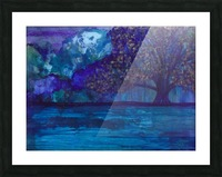 Lost in Purple Picture Frame print
