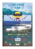 1993 RIP CURL BELLS BEACH EASTER Surfing Championship Competition Print - Surfing Poster Picture Frame print