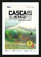 2013 CASCAIS BILLABONG PRO Surfing Competition Print Picture Frame print