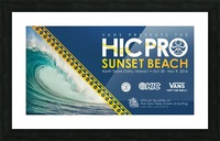 2016 VANS HIC PRO SUNSET BEACH Competition Print Picture Frame print
