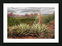 Storm over Sedona Picture Frame print
