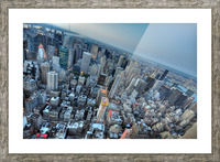 New York Picture Frame print