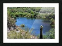 Salt River Picture Frame print