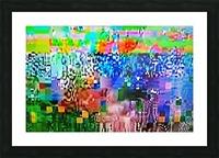 Alien Landscape Picture Frame print