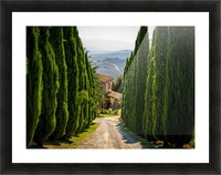 Tuscany House Picture Frame print
