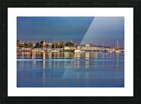 Bridge Street Waterfront Picture Frame print