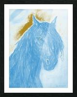 Horse Spirit Picture Frame print