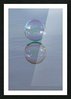 bubble Picture Frame print