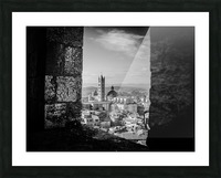 Bnw Siena Tower Picture Frame print
