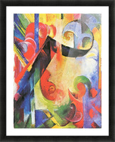 Broken Forms by Franz Marc Picture Frame print