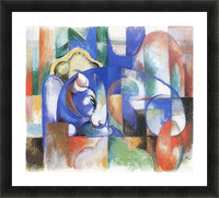 Bull by Franz Marc Picture Frame print