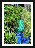 Colorful Plant Pots Marrakech 4 Picture Frame print