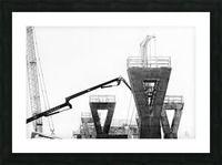 Magpie Heavy... Picture Frame print