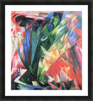 Fowl by Franz Marc Picture Frame print
