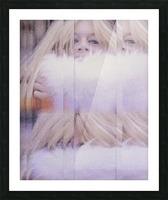 Brigitte Picture Frame print